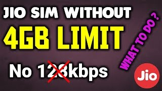 How to remove Daily 4GB DATA limit | Go Back to Preview Offer | get unlimited DATA