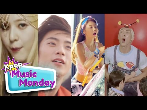 Kpop Music Monday: f(x), B1A4, Girl's Day, & G.o.d.