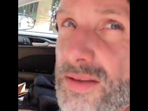 Norman Reedus Glitter Bomb Prank