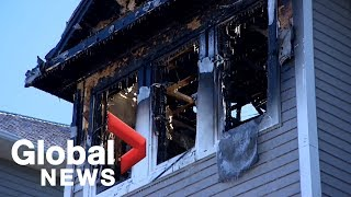 Seven children from Syrian refugee family killed in house fire in Halifax