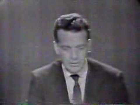 November 22, 1963 Reaction to President Kennedy's death.