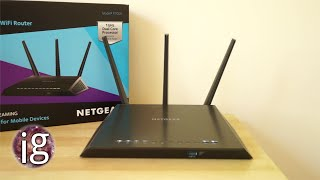 01. Netgear Nighthawk R7000 Router Review | IGO 6 Jan