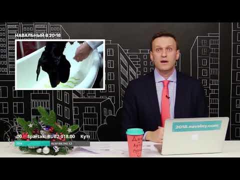 Навальный о том как Рогозин утопил таксу