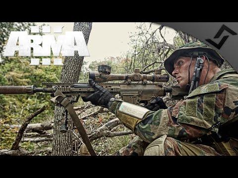 MARSOC Bridge Ambush - ARMA 3 - SR-25 DMR Gameplay