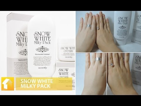 Review - Snow White Milky Pack