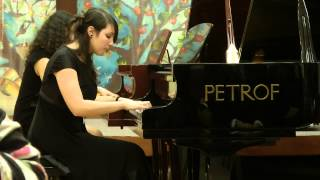 Sara A Linda Takieddinovy Souboj Klavírů