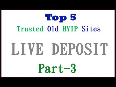 Trusted hyip investment sites pdf