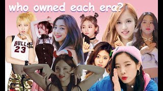 (TWICE) who owned each era?