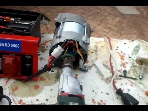 Alternador 220v para generador serate youtube - Mini generador electrico ...