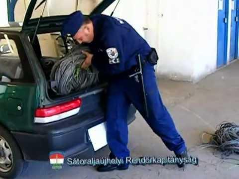 Lezárt ügyek: Bíróság előtt a tetten ért kábeltolvajok - police.hu
