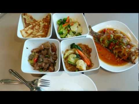 Bangkok Thailand-BigC Ratchadumri Branch Food Coat Lunch ・象気功