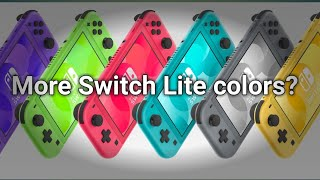 More Switch Lite colors?