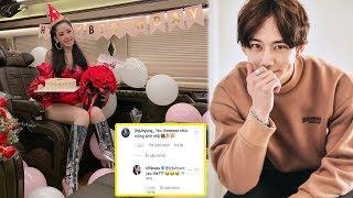 """Sinh nhật Chi Pu,""""bạn trai"""" soái ca người Hàn gửi lời chúc thật ngọt ngào,khiến fan phấn khích"""