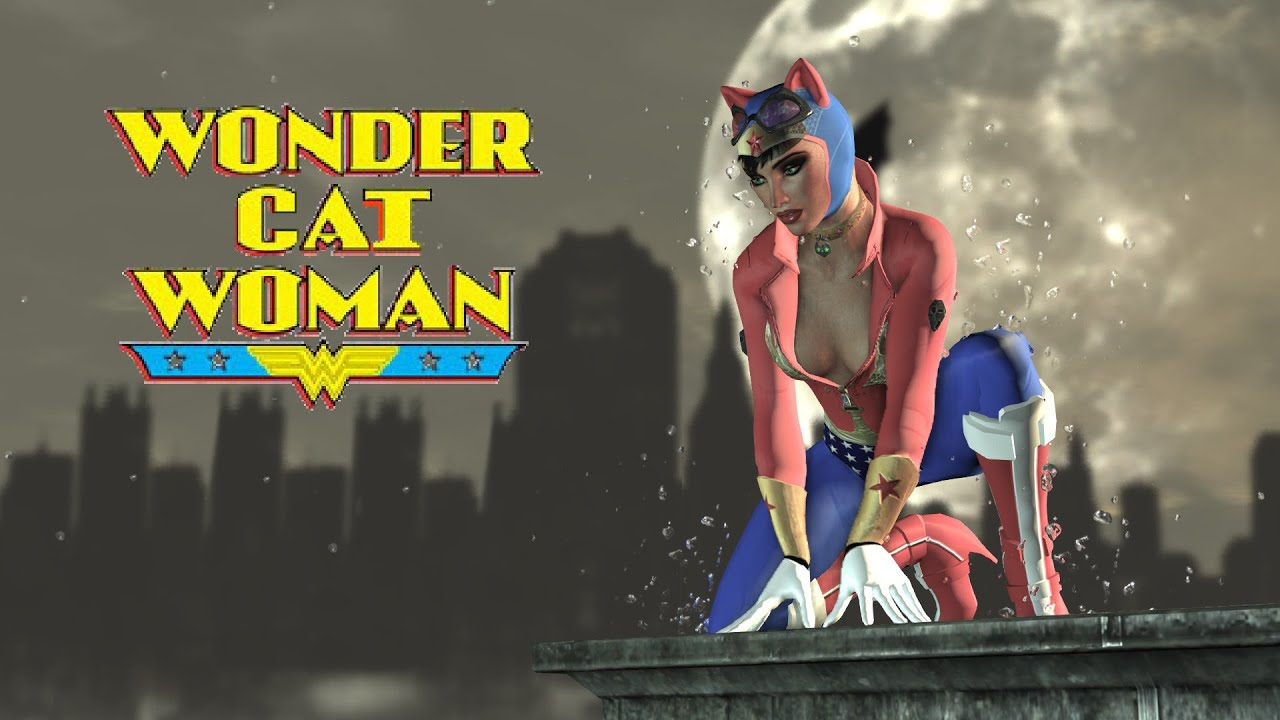 Arkham city cat woman mod xxx sexgirl