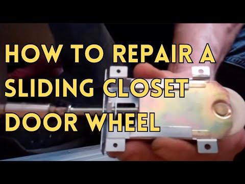 Sliding Glass Door Closet Door Repair Youtube