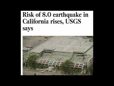 Risk of 8.0 earthquake in California rises, USGS says