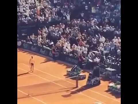 Maria Sharapova vs Simona Halep match point