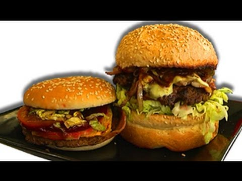 BEST McDonalds Burger EVER - Sydney Stack Vs Sydney Burger