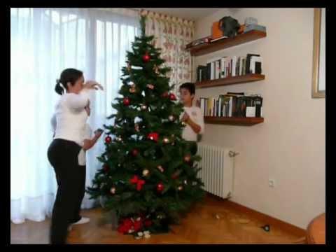 Como adornar un rbol de youtube - Como adornar mi arbol de navidad ...