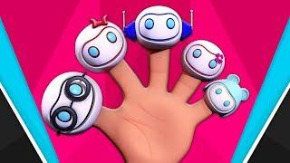 robot ngón tay gia đình   múa robot   Robot Finger Family   Toddlers Toons Vietnam   bài hát hay cho