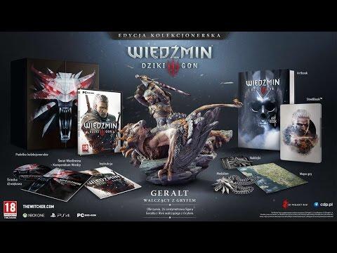 Wiedźmin 3: Dziki Gon - Unboxing Edycji Kolekcjonerskiej