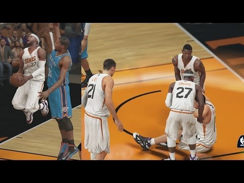 NBA 2K14 PS4 My Career Playoffs CFG2 - Torn ACL