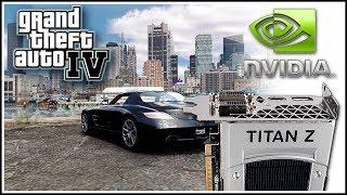 Nvidia GeForce GTX Titan Z SC [12 GB] - GTA IV 7680 x 4320 - Gameplay Performance Benchmark
