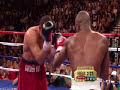 De La Hoya Mayweather Highlights