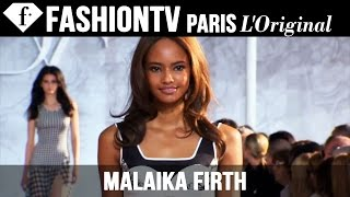 Model Malaika Firth | Beauty Trends for Spring/Summer 2015 | FashionTV