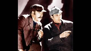 "Basil Rathbone and Nigel Bruce - Request Performance: ""Sherlock Holmes"" (1945)"