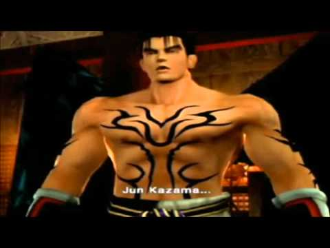 Tekken: Jin Kazama endings