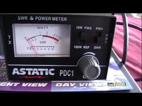CB RADIO (QUBEC) CB Test SWR : PDC1 cb jacques