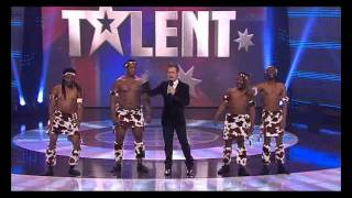 African Warriors - SEMI FINAL [FULL][HD] - Australia's Got Talent 2011