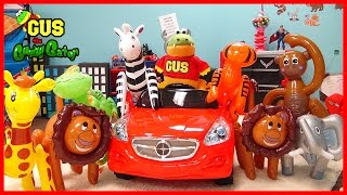 Learn Zoo Animals! Gus Catches Wild Animals Inflatable toys