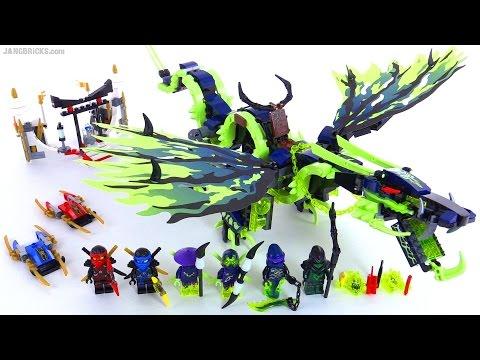LEGO Ninjago Attack of the Morro Dragon reviewed! set 70736