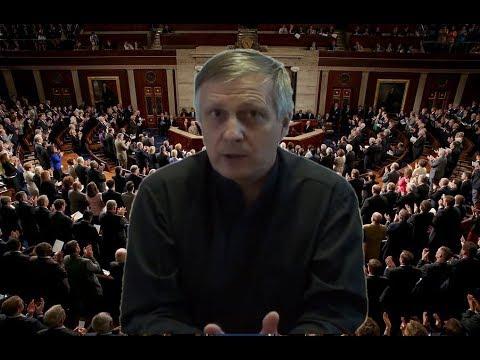 Пякин Завершение 26 часовой сидячей забастовки демократов в Сенате Конгресса США КОБ