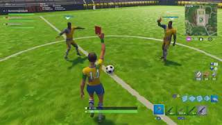"NEW Football Skins Gameplay ""Joueuse décisive"" - Fortnite Battle Royal"