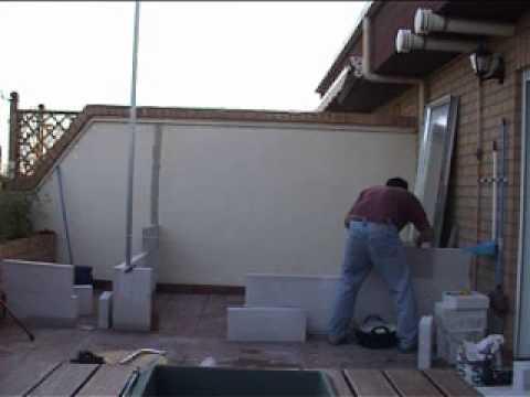 As se hizo la caseta youtube for Bordillos de hormigon para jardin