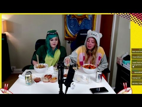 WATCH PEOPLE EAT WITH TWITCH'S SOCIAL EATING CHANNEL