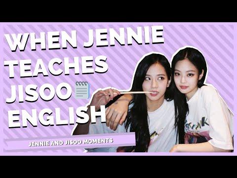 When Jennie Teaches Jisoo English - BLACKPINK ENGSUB