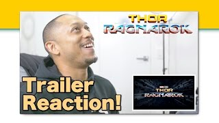 Thor: Ragnarok Teaser Trailer Reaction!!