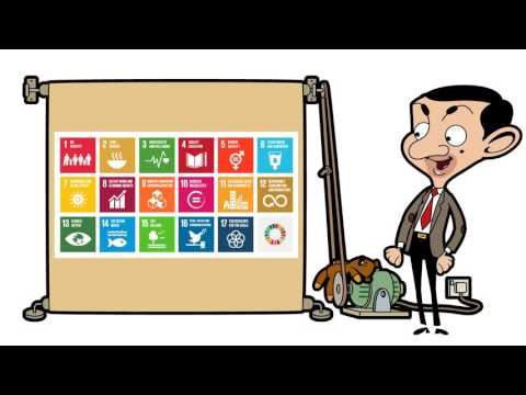 Mr Bean - Global Goals - Teddy