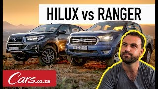 Toyota Hilux vs Ford Ranger - In-Depth Comparison and Review