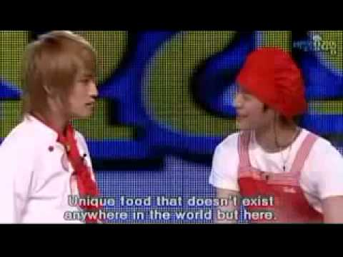 DBSK Cooking Variety Show Part 4 (eng sub)