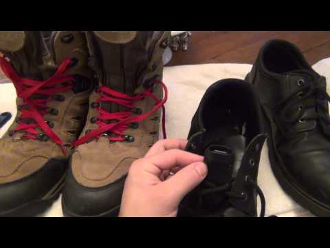 How To Attach Knives To Your Boots / Shoes