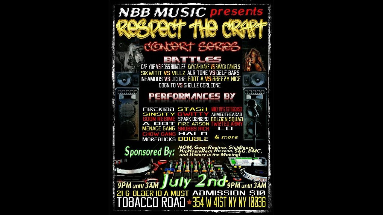 NBB Music Presents Respect The Craft Concert Series Part 1 ...