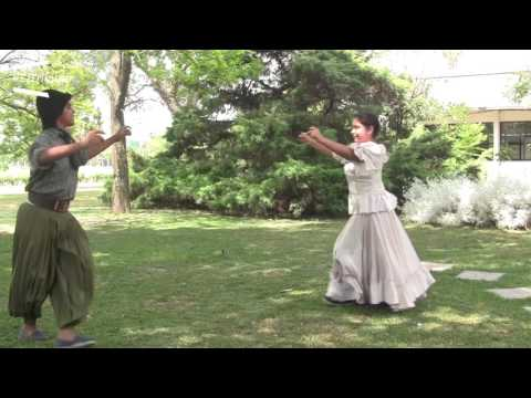 Aprendemos a bailar folclore: el paso básico para bailar un gato