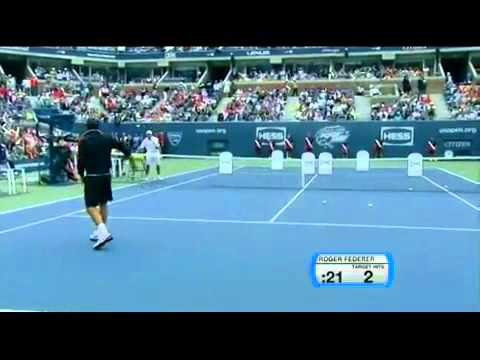 Performance Challenge Maria Sharapova Andy Roddick Serena Williams Roger Federer part 2