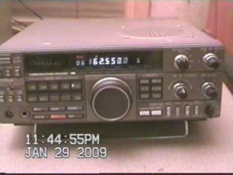 Kenwood R-5000 HF VHF Ham Radio Shortwave Communications Receiver