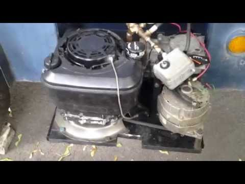 Home built generator & air compressor from lawn mower